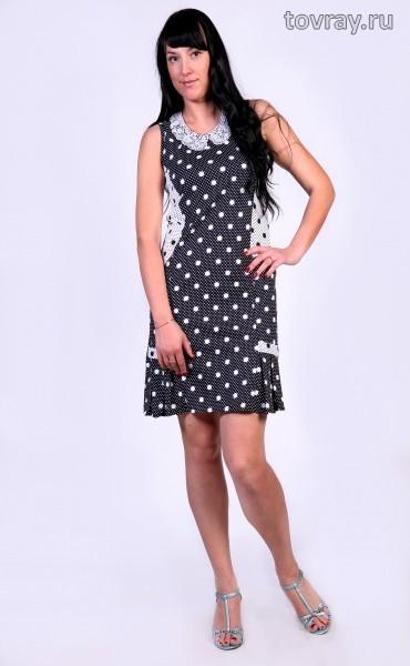 Платье с кружевным воротником Мишель Tovray 359 P (MD)