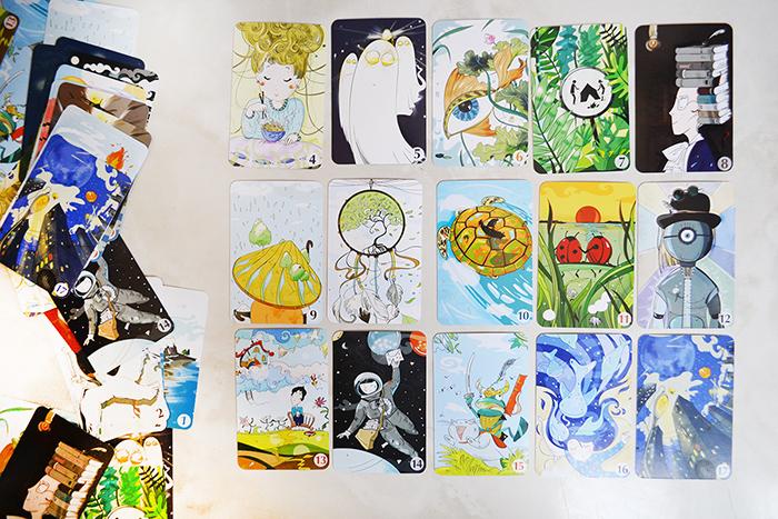 """Примеры карточек в игре """"Страна снов"""""""