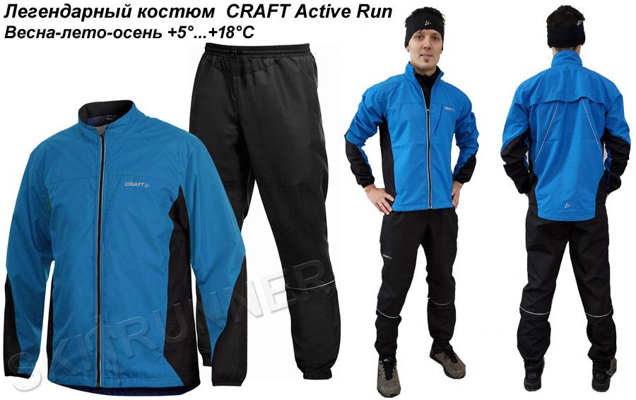 4.Легендарный костюм  CRAFT Active Run
